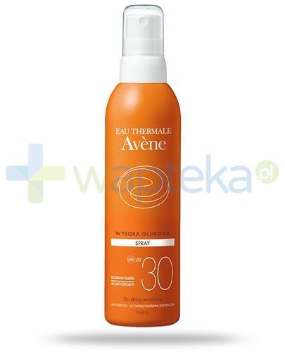 Avene Sun SPF30 spray przeciwsłoneczny 200 ml - wapteka.pl