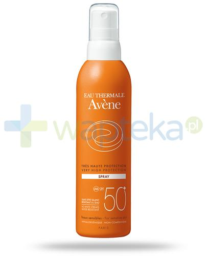 Avene Sun SPF50+ mleczko ochronne w sprayu 200 ml - wapteka.pl