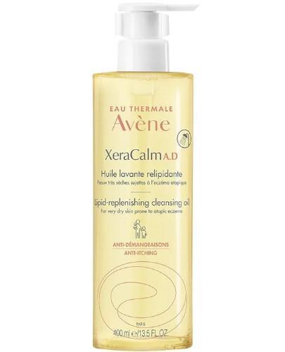 Avene XeraCalm AD Olejek oczyszczający uzupełniający lipidy 400 ml