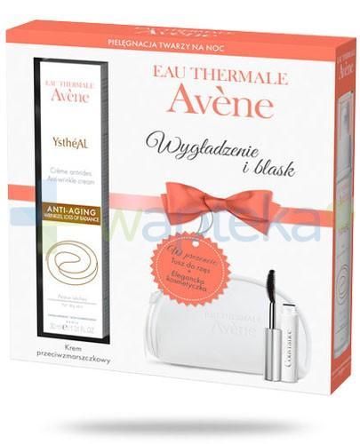 Avene Ystheal emulsja przeciwzmarszczkowa 30 ml + tusz do rzęs wysoka tolerancja + kosmetyczka