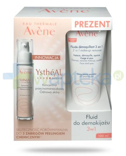 Avene YstheAL Intense koncentrat przeciwzmarszczkowy odnowa skóry 30 ml + Avene fluid do demakijażu 3w1 100 ml [ZESTAW]