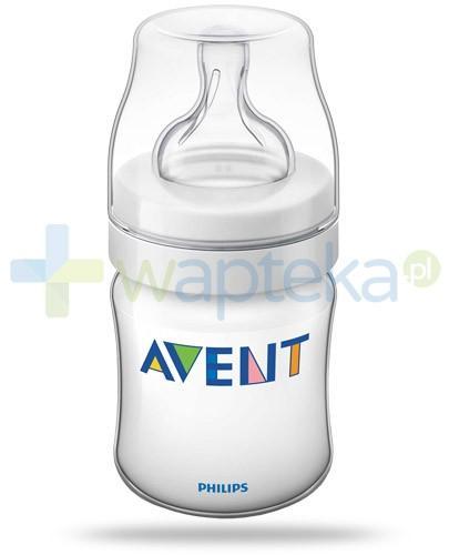 Avent Philips Classic+ butelka dla niemowląt 125 ml ze smoczkiem antykolkowym 0m+ [SCF560/17]