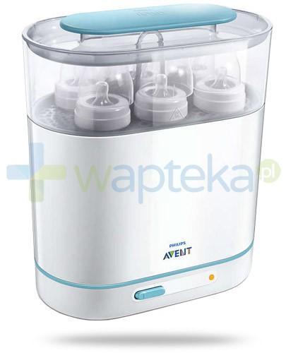 Avent elektryczny sterylizator parowy 3w1 regulowana konstrukcja na 6 butelek [284/03]