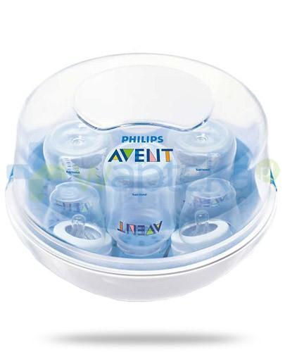 Avent Philips mikrofalowy sterylizator parowy na 4 butelki [SCF281/02]