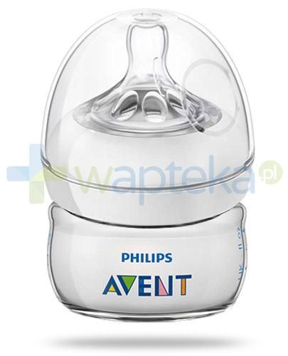 Avent Philips Natural butelka dla niemowląt 60 ml ze smoczkiem dla niemowląt 0m+ [SCF699/17]