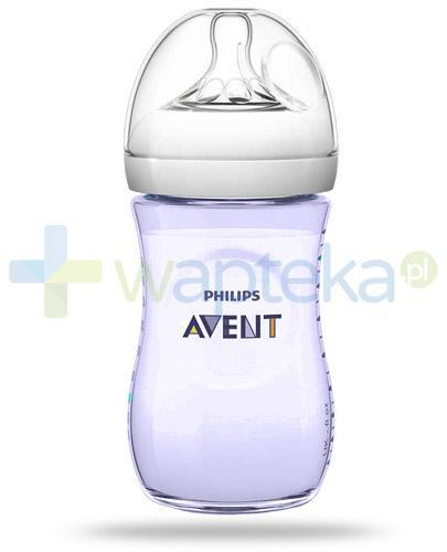 Avent Philips Natural butelka szklana dla niemowląt 260 ml ze smoczkiem dla niemowląt 1m+ [693/14]