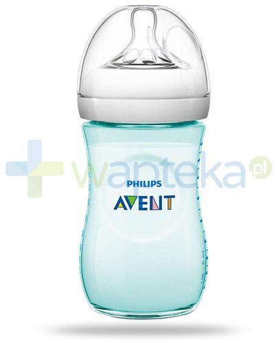 Avent Philips Natural butelka szklana dla niemowląt 260 ml ze smoczkiem dla niemowląt 1m+ [693/15]