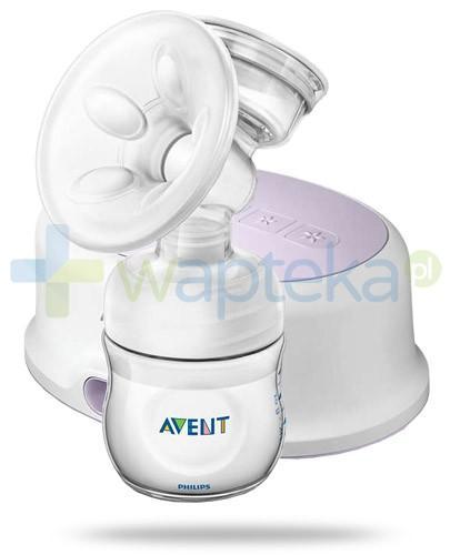 Avent Philips Natural laktator elektryczny z trybem regulacji i stymulacji [SCF332/01] + Avent wkładki laktacyjne 60 sztuk [GRATIS]