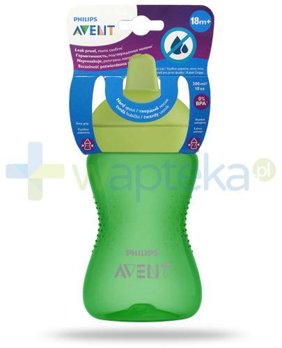Avent Philips My Grippy kubek zielony 300 ml z miękkim, odpornym na gryzienie ustnikiem dla dzieci 18m+ [SCF804/03]