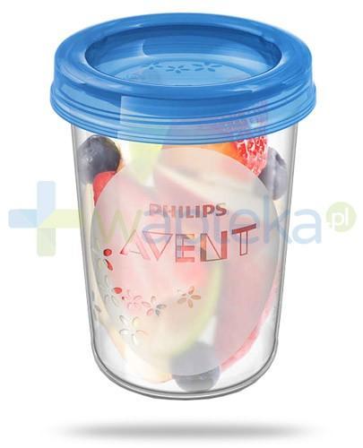 Avent Philips pojemniki do przechowywania pokarmów o pojemności 240 ml 5 sztuk [SCF639/05]