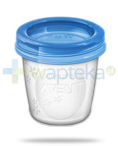 Avent Philips pojemniki na pokarm o pojemności 180 ml 10 sztuk [SCF618/10]