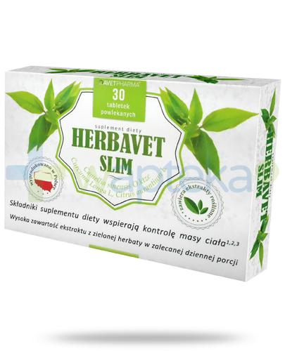 AvetPharma Herbavet Slim 30 tabletek powlekanych