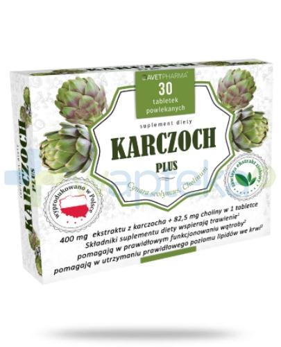 AvetPharma Karczoch Plus 400mg 30 tabletek