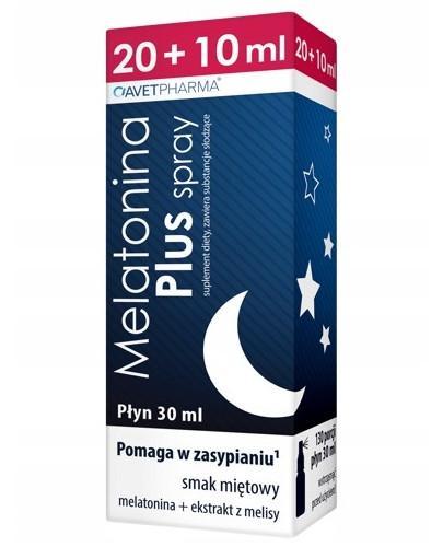 AvetPharma Melatonina Plus spray płyn 20 ml