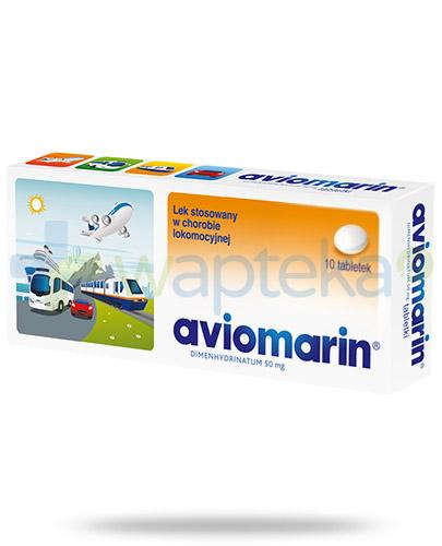Aviomarin 50mg 10 tabletek