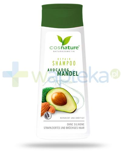 Avocado & Mandel odżywczy szampon do włosów z olejem ze słodkich migdałów i masłem avocado 200 ml CosNature