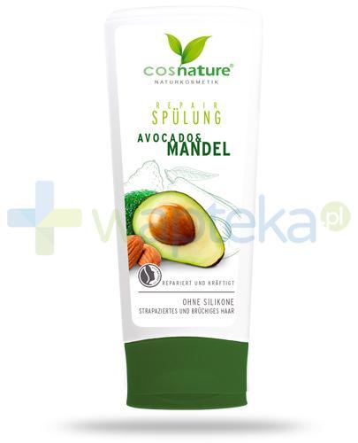 Avocado & Mandel regenerująca odżywka do włosów z awokado i migdałami 200 ml CosNature