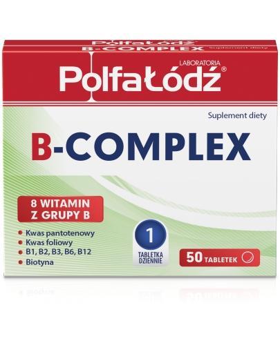 B-Complex Laboratoria Polfa Łódź 50 tabletek