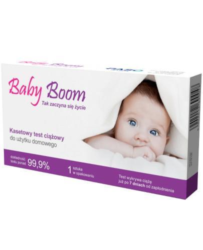 Baby Boom test ciążowy kasetowy 1 sztuka
