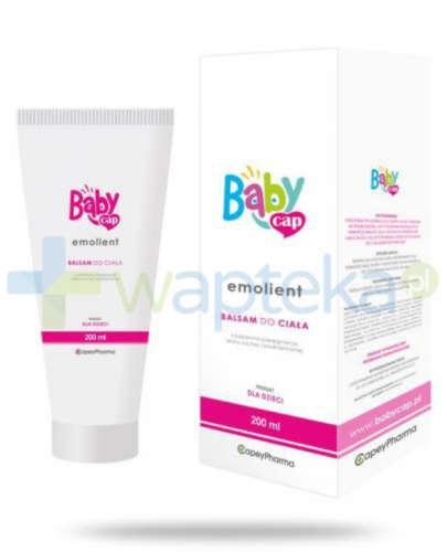 Babycap Emolient balsam do ciała 200 ml
