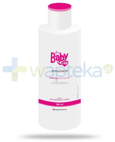BabyCap Emolient emulsja do kąpieli 200 ml