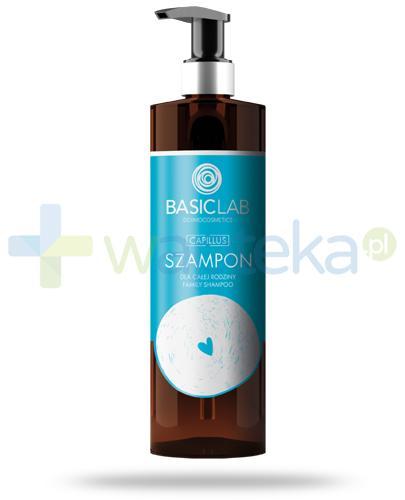 BasicLab Capillus szampon dla całej rodziny 300 ml + BasicLab AntiPerspirs 48h 60 ml [GRATIS]