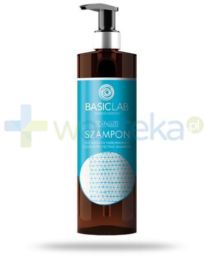 BasicLab Capillus szampon do włosów farbowanych 300 ml