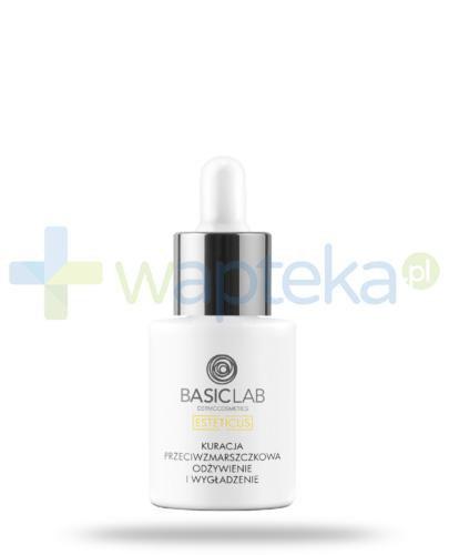 BasicLab Esteticus kuracja przeciwzmarszczkowa, odżywienie i wygładzzenie na dzień i na noc, serum 15 ml