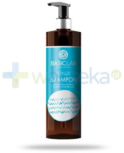 BasicLab Capillus szampon do włosów suchych 300 ml + BasicLab AntiPerspirs 48h 60 ml [GRATIS]