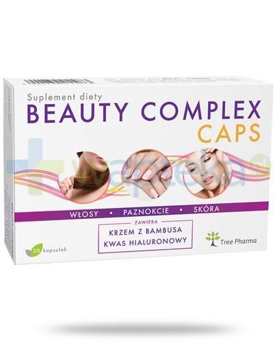 Beauty Complex Caps włosy, paznokcie, skóra 30 kapsułek