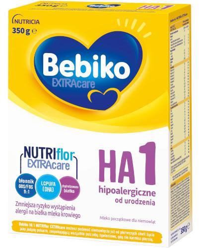 Bebiko 1 HA NutriFlor+ mleko w proszku hipoalergiczne dla dzieci 0+ 350 g