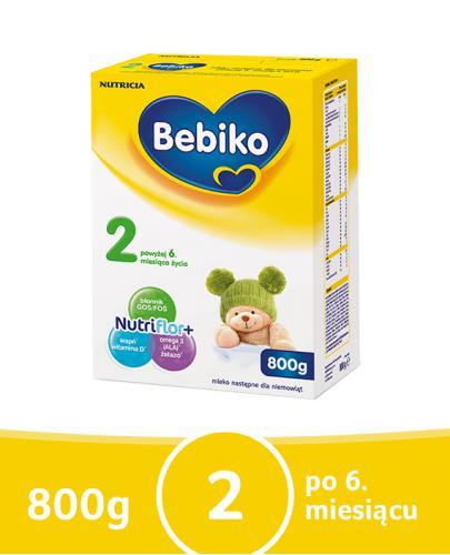 Bebiko 2 NutriFlor+ mleko w proszku dla dzieci 6m+ 800 g
