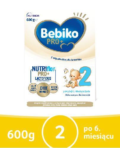 Bebiko 2 NutriFlor Pro+ mleko w proszku dla dzieci 6m+ 600 g