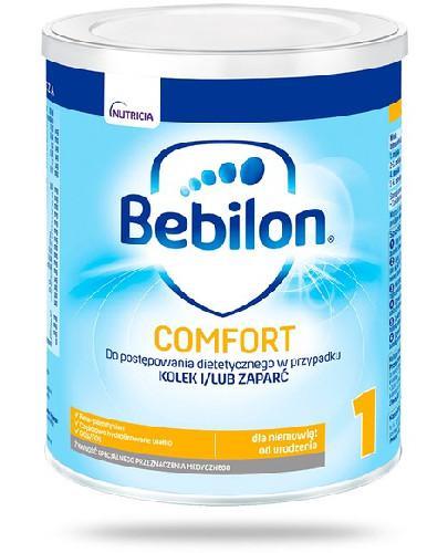 Bebilon 1 Comfort z ProExpert mleko w proszku dla dzieci 0m+ 400 g