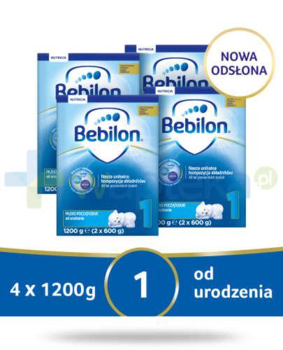 Bebilon 1 Pronutra-Advance mleko początkowe od urodzenia 4x 1200 g [CZTEROPAK]