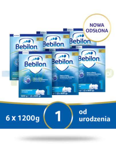 Bebilon 1 Pronutra-Advance mleko początkowe od urodzenia 6x 1200 g [SZEŚCIOPAK]