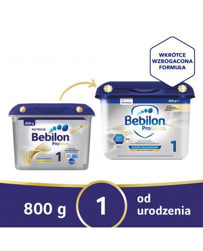 Bebilon 1 z ProFutura mleko w proszku dla dzieci 0m+ 800 g [NOWE OPAKOWANIE]