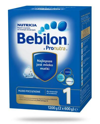 Bebilon 1 z Pronutra+ mleko w proszku dla dzieci 0m+ 1200 g