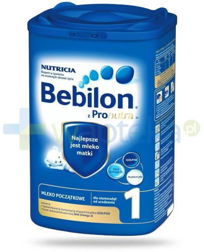 Bebilon 1 z Pronutra+ mleko w proszku dla dzieci 0m+ 800 g