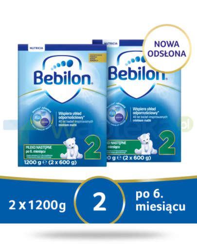 Bebilon 2 Pronutra-Advance mleko następne po 6. miesiącu 2x 1200 g [DWUPAK]