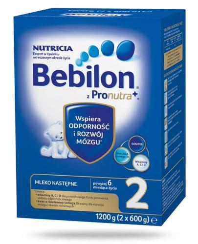 Bebilon 2 z Pronutra+ mleko w proszku dla dzieci 6m+ 1200 g