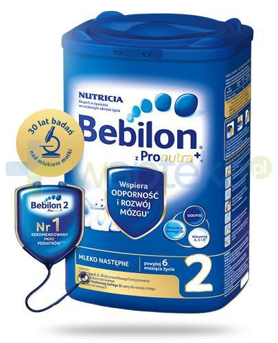 Bebilon 2 z Pronutra+ mleko w proszku dla dzieci 6m+ 800 g