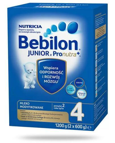 Bebilon 4 Junior z Pronutra+ mleko w proszku dla dzieci 2+ 1200 g