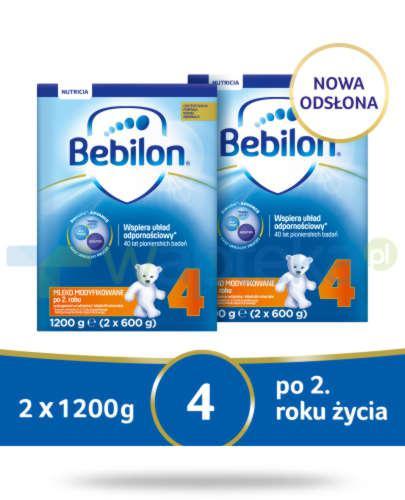 Bebilon 4 Pronutra-Advance mleko modyfikowane po 2. roku 2x 1200 g [DWUPAK]