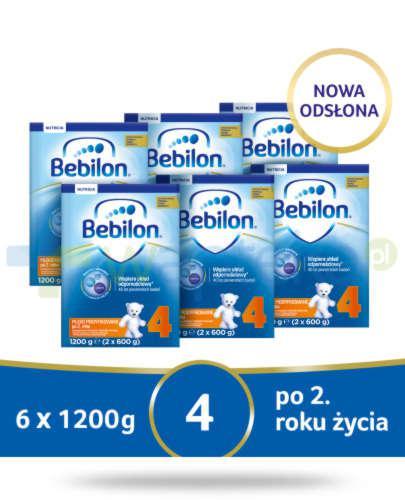 Bebilon 4 Pronutra-Advance mleko modyfikowane po 2. roku 6x 1200 g [SZEŚCIOPAK]