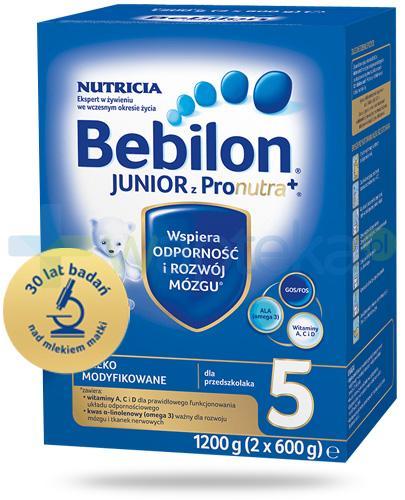 Bebilon 5 z Pronutra+ mleko w proszku dla przedszkolaka 1200 g