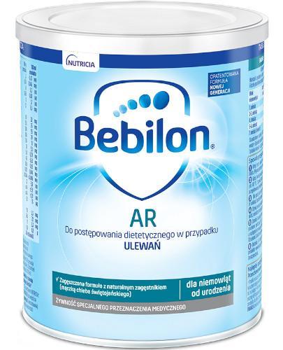 Bebilon AR ProExpert mleko początkowe przeciw ulewaniom od urodzenia 400 g