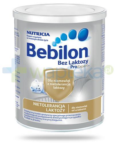 Bebilon Bez laktozy z ProExpert mleko w proszku dla dzieci 0+ 400 g