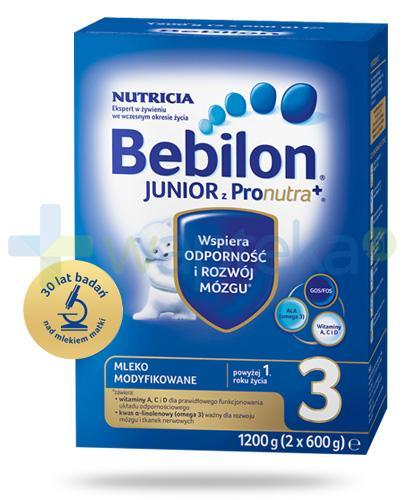 Bebilon 3 Junior z Pronutra+ mleko w proszku dla dzieci 1+ 1200 g