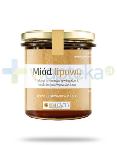 BEeHEALTHY Miód lipowy 400 g